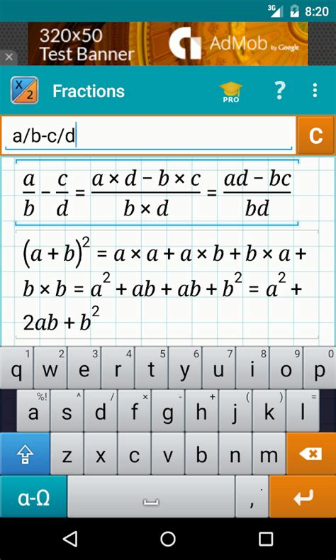 calculator fraction fraction calculator math android apps on google play