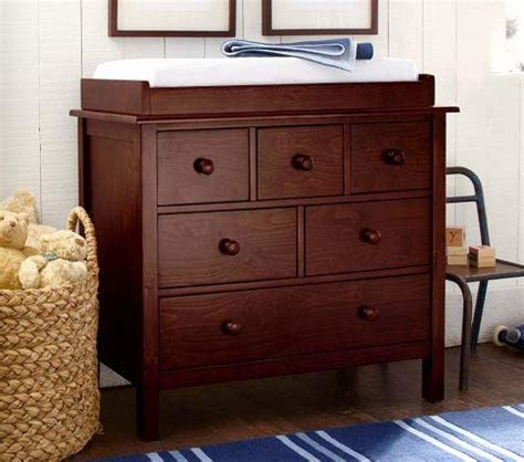 Kendall Changing Table Kendall Dresser Changing Table Topper Pottery Barn