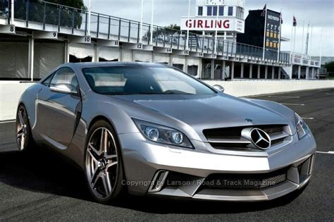 New Gullwing Mercedes by Mercedes Slc Gullwing Photo And Information
