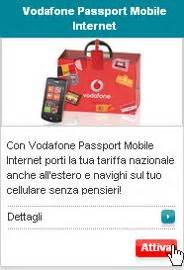 Sul Passport Dove Bening Clear And Dove Passport Cover come attivare vodafone passport mobile settimocell