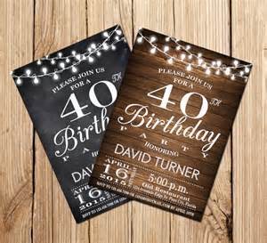 40th birthday invitations free templates 40th birthday invites gangcraft net