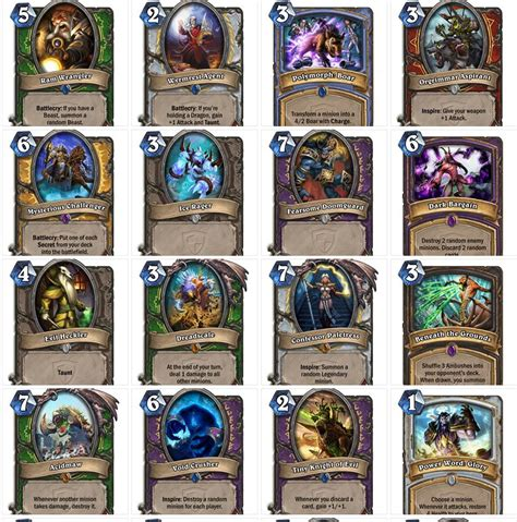 Can You Gift Card Packs In Hearthstone - players can now see all of the new hearthstone cards