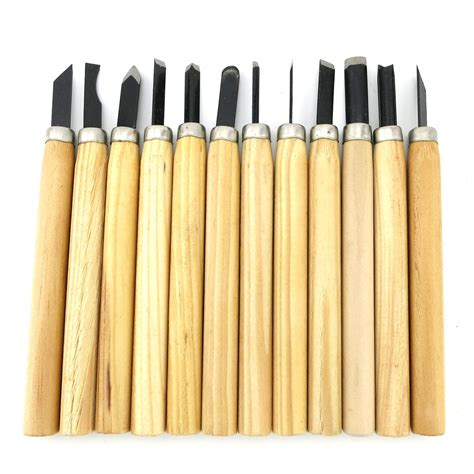 Handmade Chisels - mini graver wood carving tool set diy handmade tool