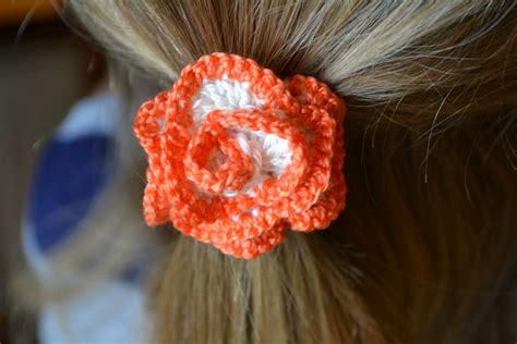 free patterns and on flower hair frilly flowery hair ties the green dragonfly