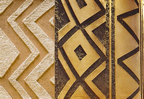 news  tribal african interior surface design pattern