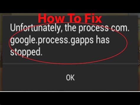 unfortunately the process android systemui has stopped fixing unfortunately search has stopped error doovi