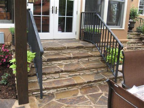 Patio Door Steps Should I Build A Deck Or Patio Of My Back Door Archadeck Of