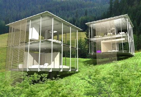 glass houses designs stunning transparent houses hometone