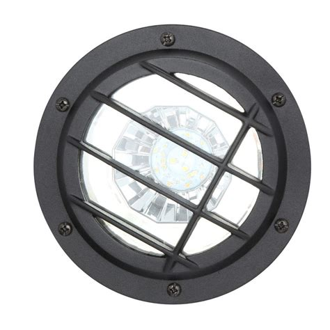 Hton Bay Low Voltage Black Outdoor Integrated Led
