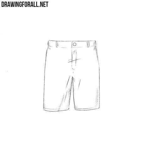 How To Draw Shorts On A how to draw shorts drawingforall net