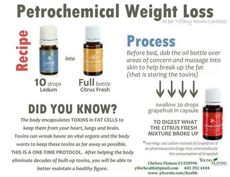 weight loss living petrochemical weight loss essential oils
