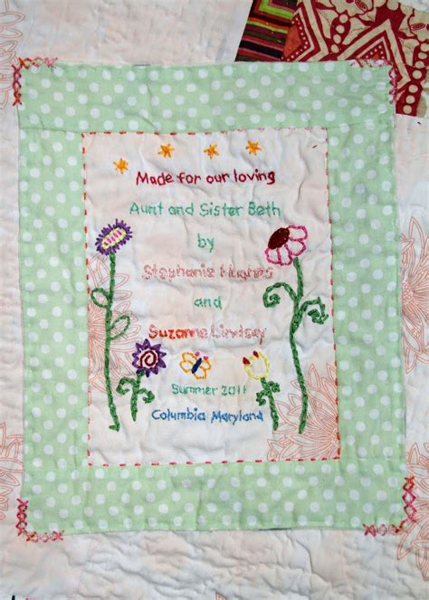 Handmade Labels For Quilts - handmade quilt labels 28 images sew handmade quilt