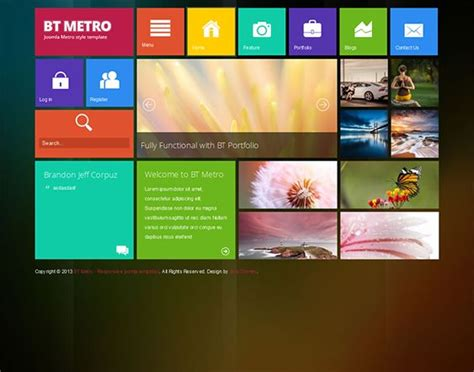 layout css touch 17 best images about 11 of the best free premium metro