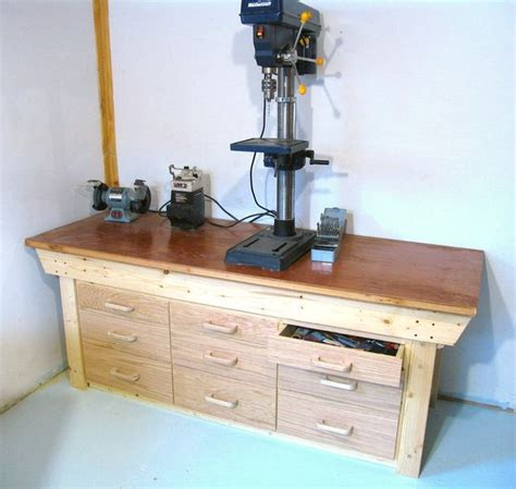 Workbench Plans With Drawers by Workbench Drawers