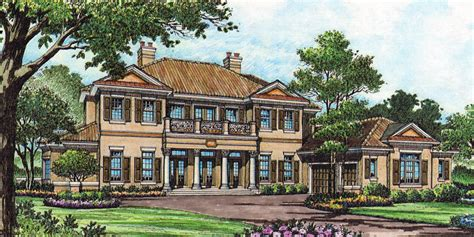 southern luxury house plans traditional southern luxury 83353cl architectural