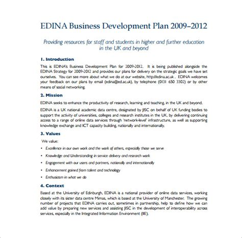 uk business plan template 19 business plan templates free sle exle format