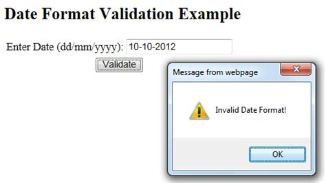 date format validation javascript yyyy mm dd how to validate date using javascripteverything technical
