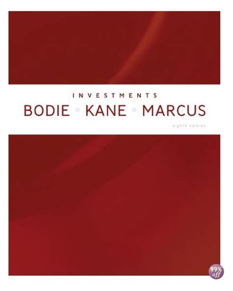 Mba Investments Textbook by Test Bank For Essentials Of Investments 8th Edition By Bodie