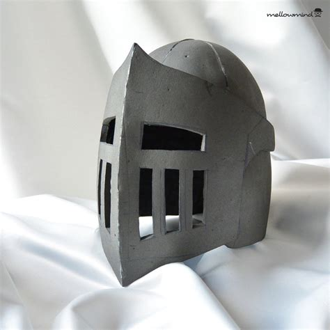 knight helmet template for eva foam version by