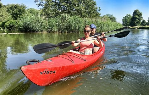 roeien nieuwkoopse plassen supertip kano 235 n over de kromme rijn bij utrecht