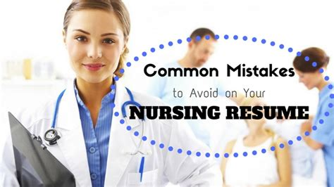 Mba Mistakes To Avoid by Top 21 Common Mistakes To Avoid On Your Nursing Resume