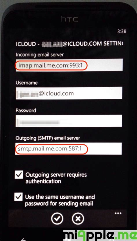 Icloud Email Search Icloud Email Set Up Wp7 And Wp8 02 Miapple Me