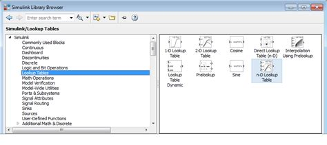 Matlab Lookup Table by Nonlinearity Matlab Simulink