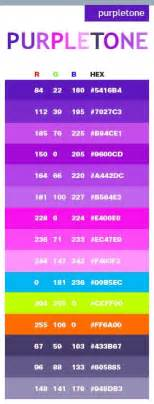 purple color code best 25 purple color combinations ideas on