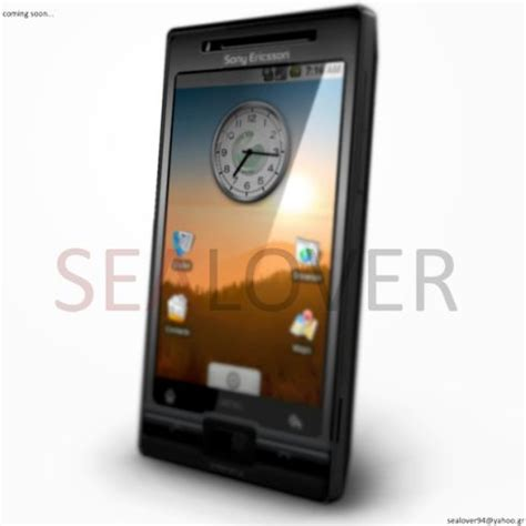 Hp Sony Ericsson Android sony ericsson xperia x2 android sealover updates his concept concept phones