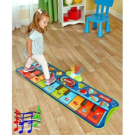 piano mat with lights step to play junior battery operated piano mat with