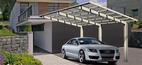 auto unterstand bauen designcarports aus metall