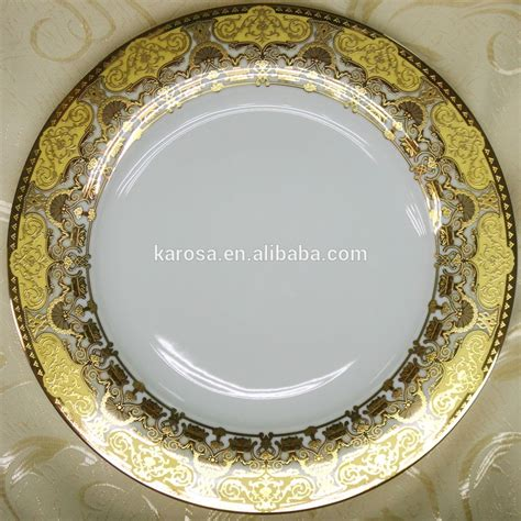 bone china dinnerware set of luxury style for 122 persons buy gold plated dinnerware set