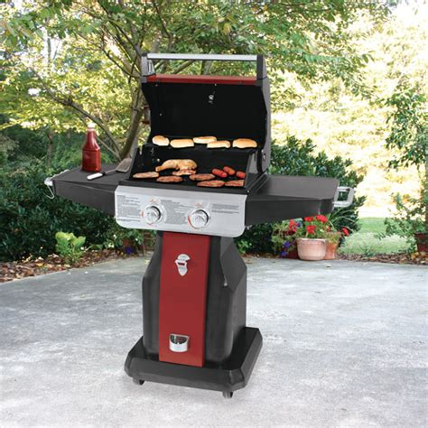 patio gas grill uniflame 20 000 btu 2 burner patio gas grill walmart