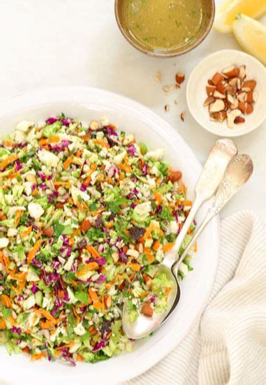 Food To Eat While Detoxing From by Crunchy Detox Salad Besides Being Crunchy Colorful And