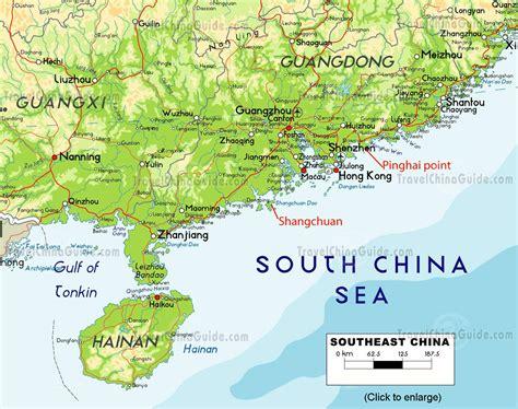 china map virtual  maps  beijing shanghai xian