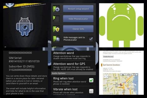 android lost phone app 6 top android applications to recover lost phone