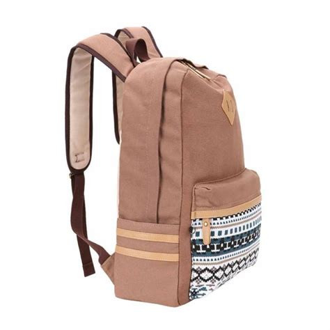 leaper causal style lightweight canvas backpacks