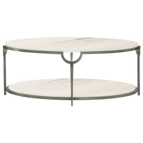 Coffee Table Oval Laci Regency Silver Marble Oval Coffee Table Kathy Kuo Home