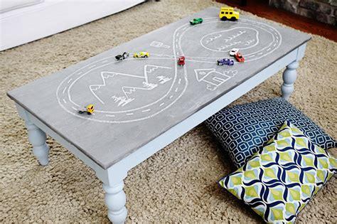 chalkboard paint coffee table 12 ways to use chalkboard paint