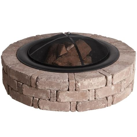 home depot stone fire pit fire pit ideas