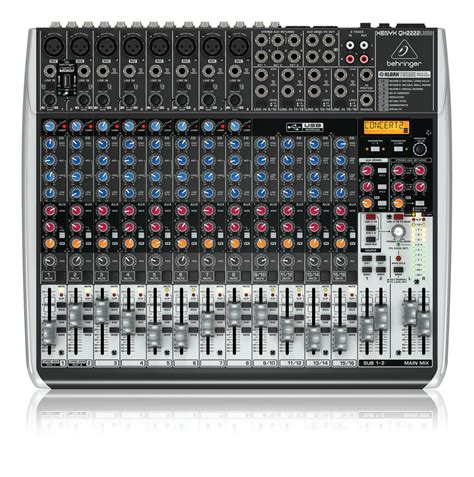 Power Mixer Behringer 12 Channel behringer qx2222usb 12 channel mixer