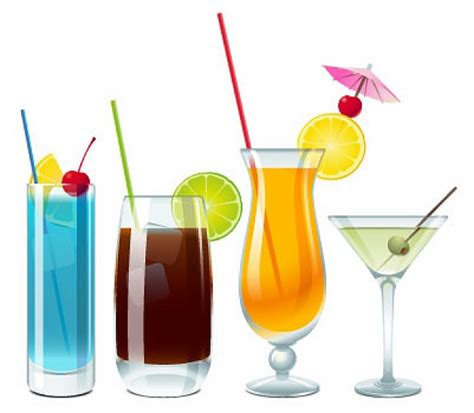 mixed drink clipart tropical drink clipart