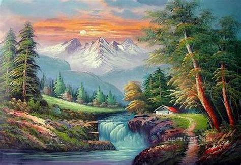 can you buy bob ross paintings cheap freehand 15 bob ross landscape painting in
