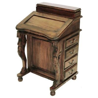 Harris Furniture by Harris Furniture 26c Davenport Wood Lift Top 26c Brown