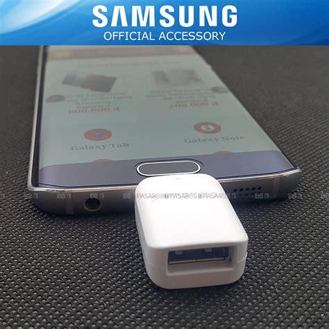 Otg Samsung Ori jual new samsung original micro usb otg connector galaxy s7 s7 edge pasarbb