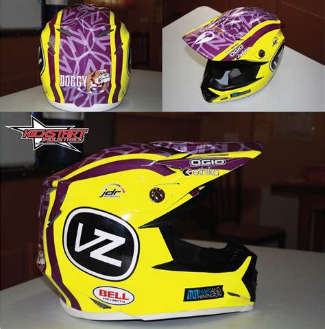 motocross helmet wraps just got my new helmet wrap moto related motocross