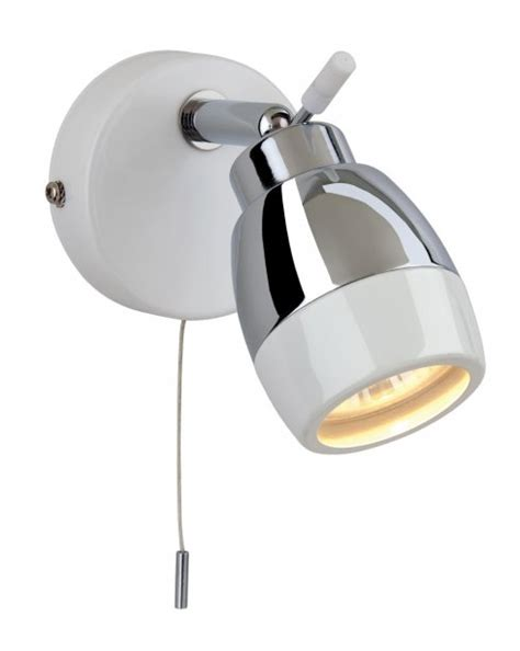 Modern Bathroom Light Fittings Firstlight Marine Single Light Modern Bathroom Spotlight