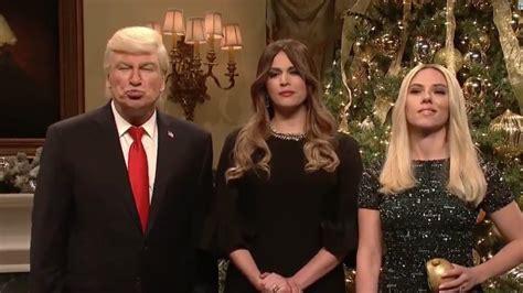 donald trump christmas message snl has a special christmas message from baldwin s trump