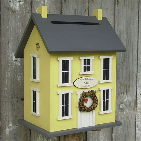 19 best birdhouse card box images on pinterest