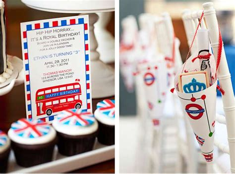 themed parties london royal london theme birthday party ideas photo 1 of 4